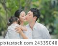 親吻 人類 人物 24335048