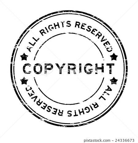 36aaa4cf467d32 Grunge black copyright all rights reserved stamp - Stock ...