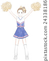 girl, cheerleader, young girl 24338186