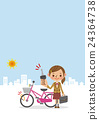 bicycle, bicyclists, bike 24364738