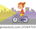 自行車 腳踏車 女人 24364750