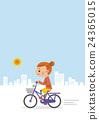 自行车 脚踏车 驾车 24365015