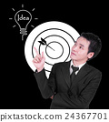 businessman is thinking about idea concept 24367701