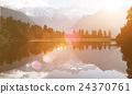 Lake Nature Cloud Environment Solitude Tranquil Concept 24370761