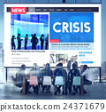 Crisis Loss Recession Disaster Business Concept 24371679