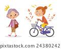 自行車 腳踏車 女性 24380242