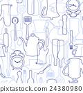餐具 插畫 插圖 24380980