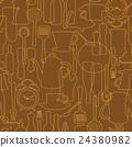 餐具 插畫 插圖 24380982