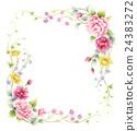 薔薇フレーム 24383272
