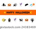 halloween, logo, icon 24383469