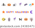 halloween, logo, icon 24383471