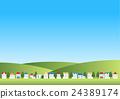 vector, vectors, landscape 24389174