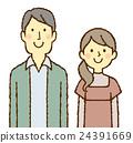 年輕的男人和女人 24391669