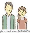 couple, heterosexual couple, friend 24391669