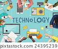 Technology Social Media Networking Online Digital Concept 24395239