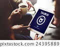 Taurus Zodiac Horoscope Sign Galaxy Concept 24395889