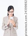 女商人(智能手機) 24399692