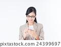 女商人(智能手機) 24399697