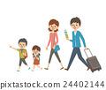 여행 가족 [심플 캐릭터 시리즈] 24402144