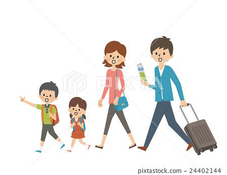 旅行家庭【簡約人物系列】 24402144