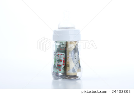 photograph, baby, baby bottle 24402802