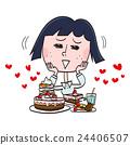 甜食 糖果店 甜点 24406507