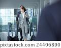 女性 自動扶梯 商界女性 24406890