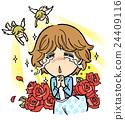 感動 天使 女性 24409116