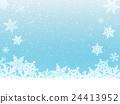 雪水晶冬天图像 24413952