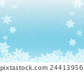 雪 下雪的 积雪 24413956