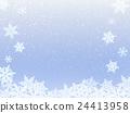 雪 下雪的 积雪 24413958