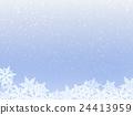 雪水晶冬天图像 24413959