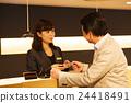 Hotel Man Concierge Hospitality บริการต้อนรับส่วนหน้าของโรงแรมการบริการด้านธุรกิจ 24418491