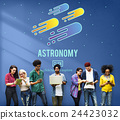 Astronomy Science Solar System Astrology Shooting Star Concept 24423032