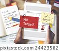 Hit Target Schedule Organizer Plan Concept 24423582