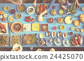 Food Festive Restaurant Party Unity Concept 24425070