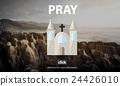 Pray Prayer Religion Spiritual Confession Faith Concept 24426010