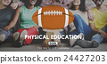 Quarterback Physical Education Rugby Sport Concept 24427203