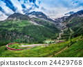 Red train Bernina Express  24429768