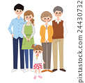 family, vectors, three generations 24430732