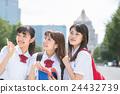 high school girl, pal, sidekick 24432739