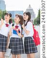高中女生 朋友 夥伴 24433007