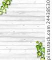 常春藤和白色篱芭 24438530