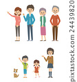 Family's set 【Simple character series】 24439820