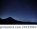 타누키 호수, 별, 실루엣 24439964