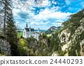 新天鹅堡 白鸟城堡 城堡 24440293