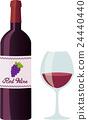 red, wine, wein 24440440