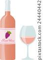 rose, wine, wein 24440442