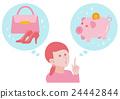 插圖材料可以保存或購物 24442844