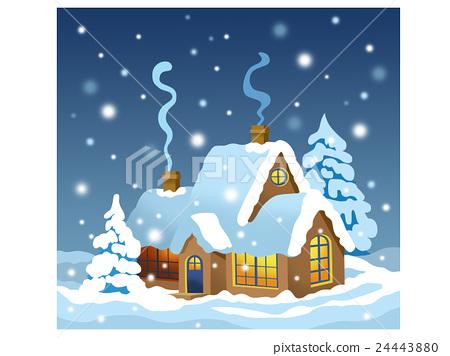 Winter house 24443880